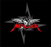 Metallica Decal / Sticker 12