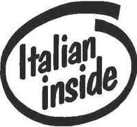 Italian Inside Decal / Sticker