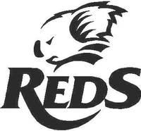 Queensland Reds Decal / Sticker