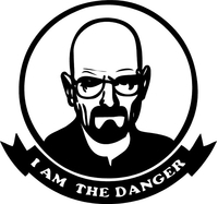 Breaking Bad Heisenberg (Walter White) Decal / Sticker 17