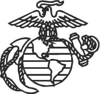 Marines Decal / Sticker 01