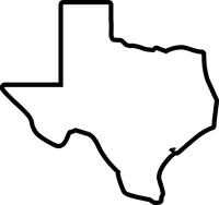 Texas Decal / Sticker 03