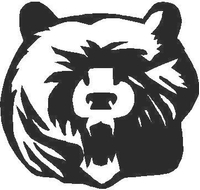 Bear Decal / Sticker 02