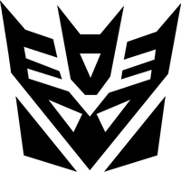 Decepticon Decal / Sticker 20
