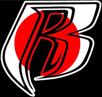 Japanese Flag Ruff Ryders Decal / Sticker