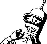 Bender Decal / Sticker 03