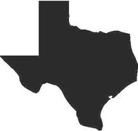 Texas Decal / Sticker 05