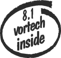 8.1 Vortech Inside Decal / Sticker
