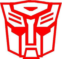 Autobot 04 Transformers Decal / Sticker