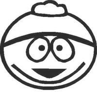 Cartman Decal / Sticker 02