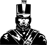 Cadets Mascot Decal / Sticker