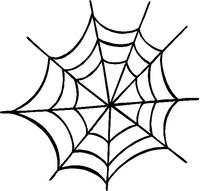 Spiderweb Decal / Sticker 05