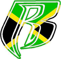Jamaican Flag Ruff Ryders Decal / Sticker
