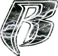 White Lightning Ruff Ryders 02 Decal / Sticker