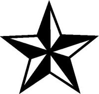 Nautical Star Decal / Sticker