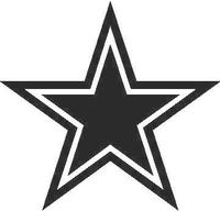 Star Decal / Sticker 03