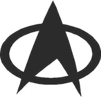 Star Trek Decal / Sticker 02