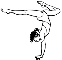 Gymnast Decal / Sticker