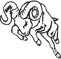 Ram Decal / Sticker 16