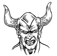 Devils Mascot Decal / Sticker 3