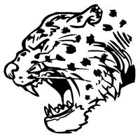 Leopards Mascot Decal / Sticker 3