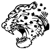 Leopards Mascot Decal / Sticker 3