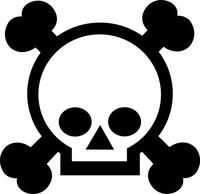 Grenade Gloves Decal / Sticker 03