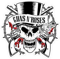 Guns N' Roses Decal / Sticker 02