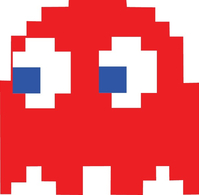 Pac-Man Blinky Decal / Sticker 16