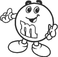 M&M Decal / Sticker 02