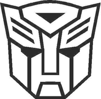 Transformers Autobot 12 Decal / Sticker
