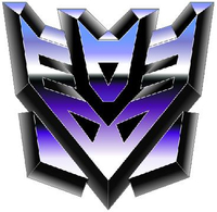 Transformers Decepticon 09 Decal / Sticker