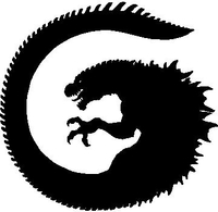 Dragon Decal / Sticker 05
