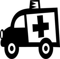 Ambulance Decal / Sticker 01