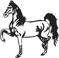 Horse Decal / Sticker 07