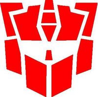 Autobot G2 Transformers Decal / Sticker