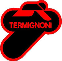 Black and Red Termignoni Decal / Sticker