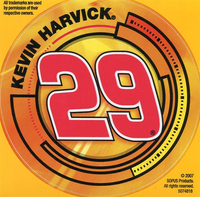 29 Kevin Harvick Decal / Sticker