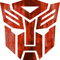 Rusted Autobot Decal / Sticker 29