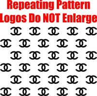 Chanel Step and Repeat Pattern Decal / Sticker 05