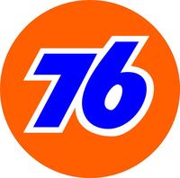 Union 76 Decal / Sticker c