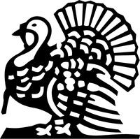 Turkey Decal / Sticker 01