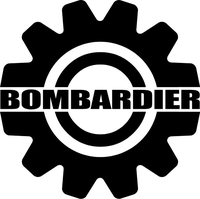 Bombardier Decal / Sticker 10
