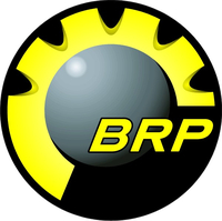 Yellow BRP Decal / Sticker 07