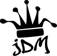 JDM Crown Decal / Sticker 01