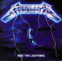 Metallica Ride The Lightning Decal / Sticker 13