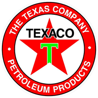 Texaco Decal / Sticker 05
