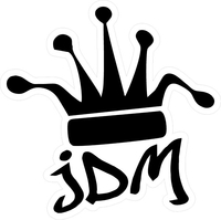 JDM Crown Decal / Sticker 02