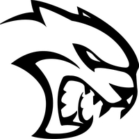 Wildcat Mascot Decal / Sticker 102