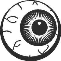 Bloodshot Eyeball Decal / Sticker